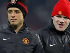 Wayne Rooney elogió el trabajo del mexicano Javier Hernández