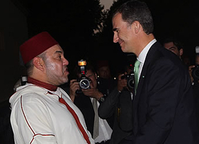 Felipe VI, en Marruecos