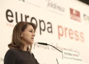 Cospedal ingresó 61.263 euros netos en 2012