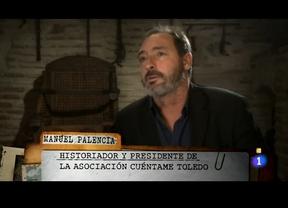 El toledano Manuel Palencia en la serie histórica televisiva 'Víctor Ros'