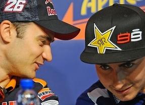 Lorenzo y Pedrosa se aprovechan de la ausencia del lesionado Márquez para dominar los entrenamientos de pretemporada