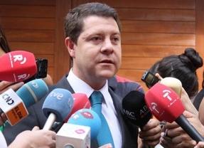 García-Page admite mantener contactos con IU y UPyD sobre la reforma del Estatuto de Autonomía