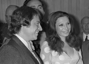 Imagen de archivo de Tito Mora con Rocío Jurado