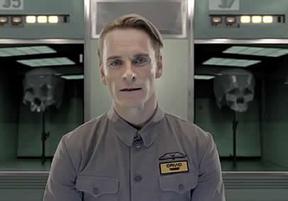 Así es David 8, el robot de robot de 'Prometheus'