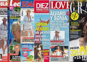 Carolina de Mónaco y Sonia Ferrer, estrellas de las revistas de la semana