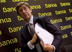 Bankia gana 250 millones hasta marzo, un 17,4% más
