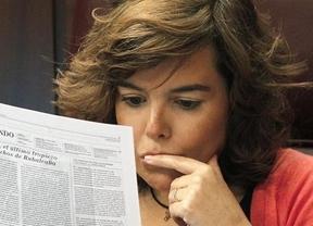 Soraya intentará 'conciliar' su embarazo con la campaña