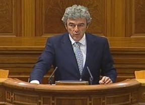 Leandro Esteban, hoy, en las Cortes