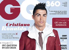 Cristiano Ronaldo, en la revista de moda 'GQ': descubra lo que le molesta al crack portugués