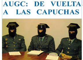 En una vuelta al pasado, la Guardia Civil, como ETA: con capucha