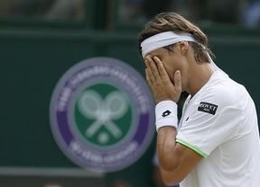 El sueño de Verdasco y Ferrer de ser semifinalistas en Wimbledon se desvanece