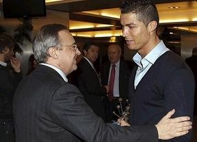 Una de optimismo de Florentino antes de la cita con el Dortmund: renovará a Ronaldo