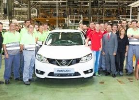 Andrés Iniesta, el primero en probar el nuevo Nissan Pulsar