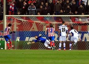 El Atlético no sufre para colarse en cuartos a costa de un débil Getafe (0-0)