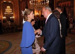 Cospedal asistió al acto de abdicación de Don Juan Carlos