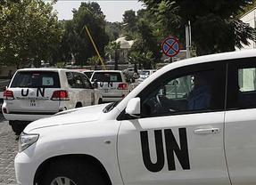Los inspectores de la ONU que investigan el uso de armas químicas, tiroteados en Damasco