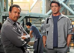 Stallone y Schwarzenegger toman la cartelera de estrenos del Puente de la Constitución