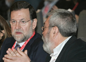 UGT descarta movilizaciones, mientras Comisiones Obreras aconseja a Rajoy escuchar por los dos oídos