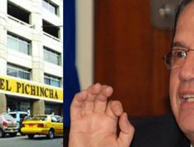 El Banco Pichincha rechaza la crítica del canciller Patiño
