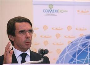 Vuelve Aznar en estado puro: