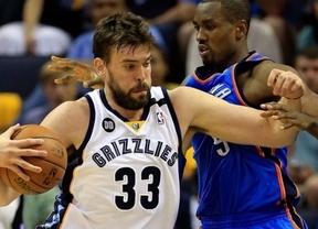 Marc Gasol se impone a Obaka: los Grizzlies vuelven a derrotar a los Thunder y toman ventaja en los play-off de la NBA (98-95)