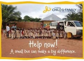 La comunidad de Lyoness hace campaña para conseguir autobuses a alumnos de una escuela en Nigeria