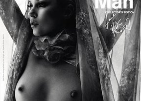 Kate Moss, desnuda en un posado para la revista 'Another Man'