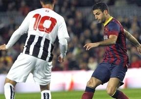 Copa del Rey: 'entrenamiento' a medio gas de un Barça con titulares que tardó en doblegar  a un digno Cartagena (3-0)