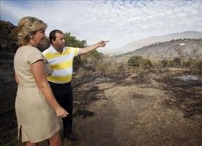 Pillan a Aguirre dando instrucciones a 'su' televisión
