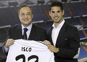 Isco olvida su amor al Barça en su presentación en el Bernabéu: