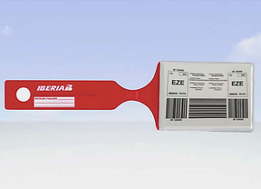 Iberia, la primera aerolínea que permite emitir 'online' la etiqueta del equipaje