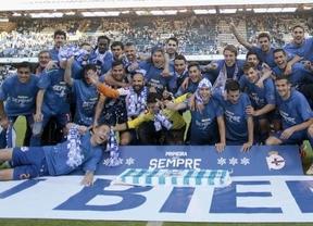 El Depor gana al Jaén (1-0) y sólo tarda un año en recuperar la categoría mientras otro histórico, el Hércules, desciende al infierno de 2ª B
