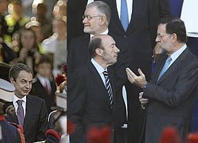 Los 'candidatísimos' hacen olvidar a Zapatero y los típicos abucheos
