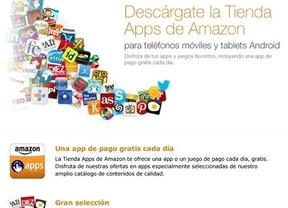 La tienda de aplicaciones de Amazon para Android aterriza en España