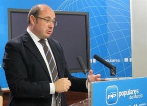 Goteo 'popular': Cospedal anuncia que Pedro Antonio Sánchez será el candidato a la presidencia de Murcia