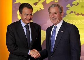 Zapatero revela ahora lo que Bush le dijo al retirar las tropas españolas de Irak