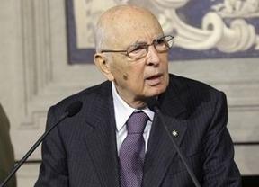 Napolitano acepta un segundo mandato en Italia