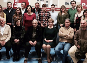 El PSOE presenta su candidatura municipal en Daimiel