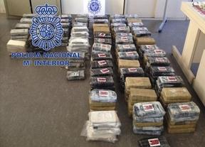 Intervenidos 350 kilos de cocaína en un tráiler de patatas con destino Guadalajara