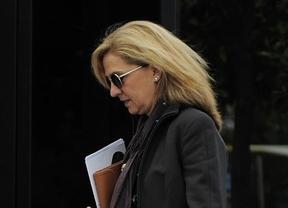 Justicia apoya que la infanta Cristina no pase la 'pena del Paseíllo' para declarar