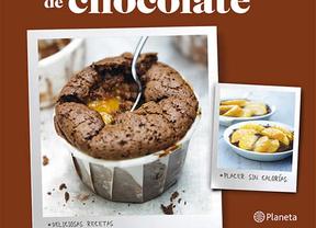 '100 placeres ligeros de chocolate': un libro para endulzar la vida con menos calorías