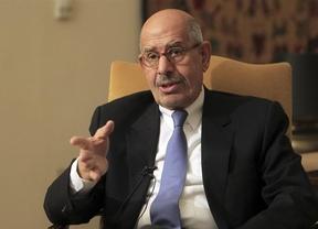 El político opositor y premio Nobel de la Paz ElBaradei, primer ministro interino de Egipto