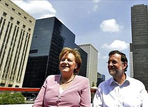 Salvadora Alemania, adorada Merkel: España y Rajoy se encomiendan a la locomotora europea