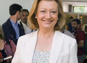 Luisa Fernanda Rudi, la primera presidenta autonómica en recibir a la caravana emprendedora con la presentación del libro ¿Puedo montar mi propia empresa?'