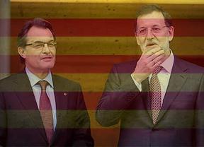 Punto muerto en el 'conflicto' secesionista: Rajoy ni se ha reunido ni tiene previsto reunirse con Artur Mas