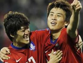 Corea del Sur confirmó su condición de favorita al ganar 2-1 a Bahrein