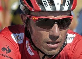 Vuelta 2012: 'Purito' aguanta el liderato en la contrarreloj pero Contador se pone a sólo un segundo en la clasificación