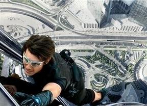 Tom Cruise, de vértigo en 'Misión Imposible 4'