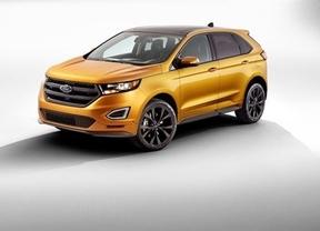 Ford lanza en el Salón del Automóvil de Ginebra el SUV Edge S