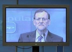 Los afectados por las hipotecas se dirigen a Rajoy 'pantalla a pantalla'